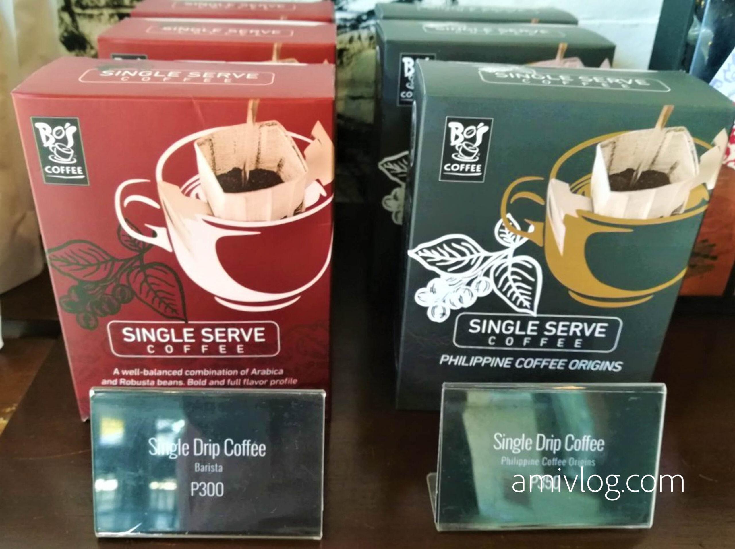 ドリップもある!「Bo's Coffee」のフィリピン産コーヒー