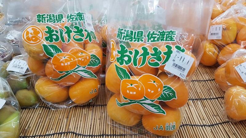 佐渡産 おけさ柿