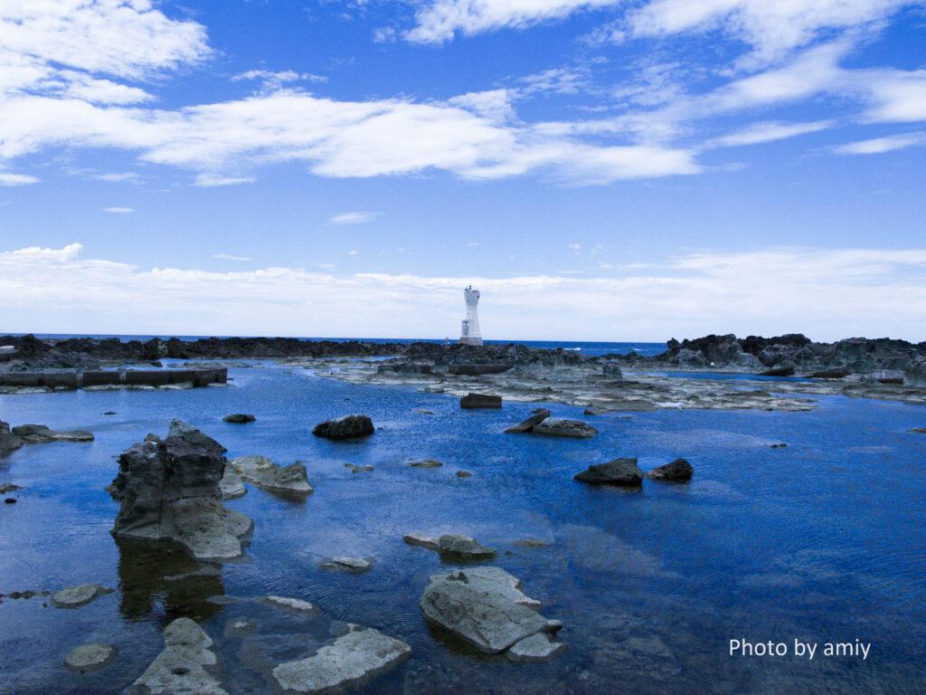 佐渡ヶ島の長手岬 写真撮影スポット