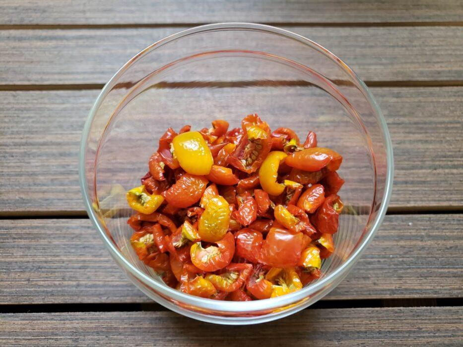 ドライトマト 天日干しの作り方